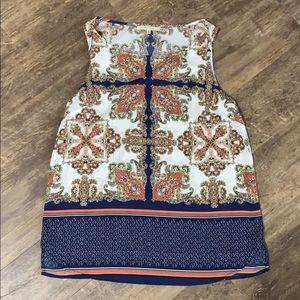 41 Hawthorn size medium polyester sleeveless top
